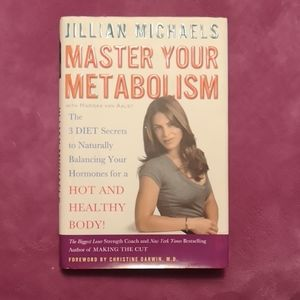 Master your metabolism hardcover book